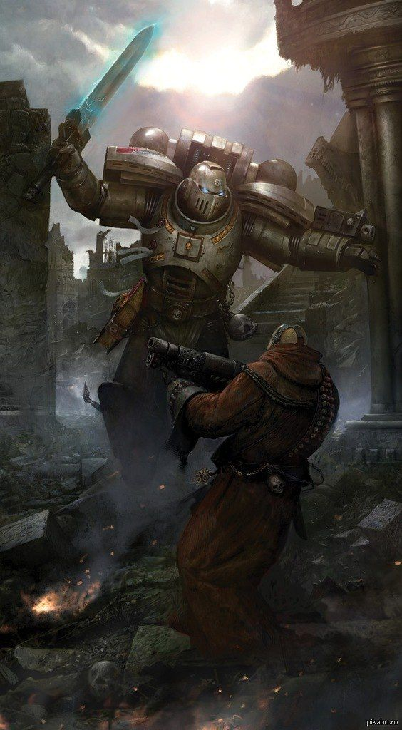 Gray Knight. Legend has it that the Grey Knights were Founded on the order of the Emperor Himself, in the early days of the Horus Heresy. Though the Chapter's origins are uncertain in many details, it is known that the Emperor ordered the creation of a force specifically mandated to fight Chaos after the onset of the Horus Heresy.