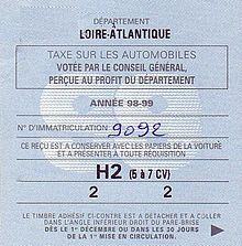 Vignette automobile en France — Wikipédia