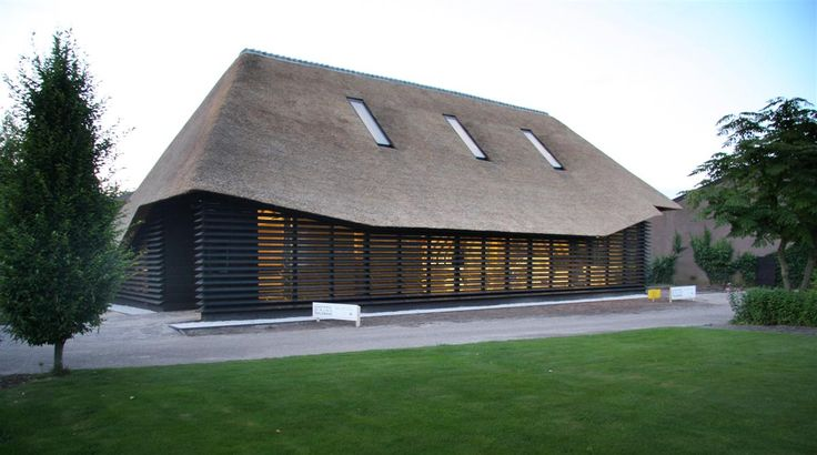 Da fienile fiammingo abbandonato ad ufficio: il progetto del Flemish Barn Bolberg
