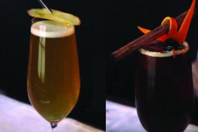 Los finalistas del Primer Concurso de Cócteles con cerveza, organizado por el Club del Barman de Cataluña, comparten las dos recetas de sus cócteles, el 'Kong's Radler' y el 'Perla Negra'.