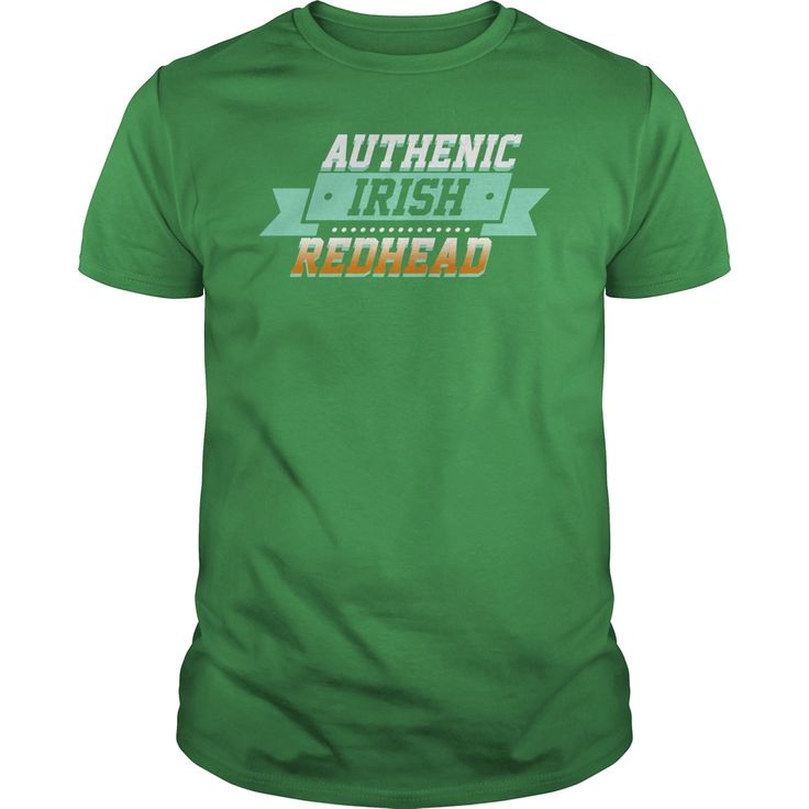 Authenic Irish #Redhead, Order HERE ==> https://www.sunfrog.com/Holidays/111968707-367358891.html?53624, Please tag & share with your friends who would love it , #christmasgifts #birthdaygifts #renegadelife