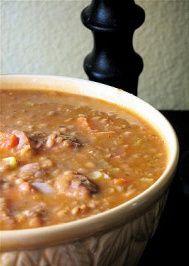 Carrabba's Sausage and Lentil Soup