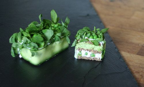 Pea, Goat Cheese And Mint Glamwich - 23 Mouthwatering Lunches To Take To Work