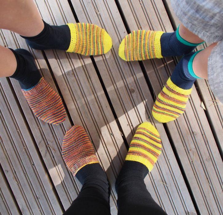 Woolsocks. Woolen socks. Villasukat.