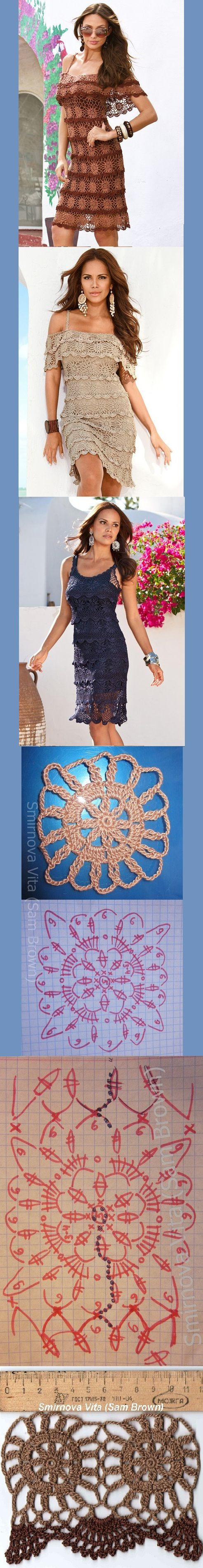 Boston's famous crochet dress - was only inspiration but here is a diagram to help... Another WIP on the way???