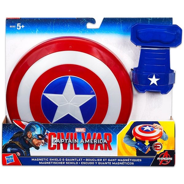 Hasbro Bosszúállók: Amerika Kapitány mágneses pajzs és kesztyű - Játék webáruház & online játék webshop - iWay Játékbolt