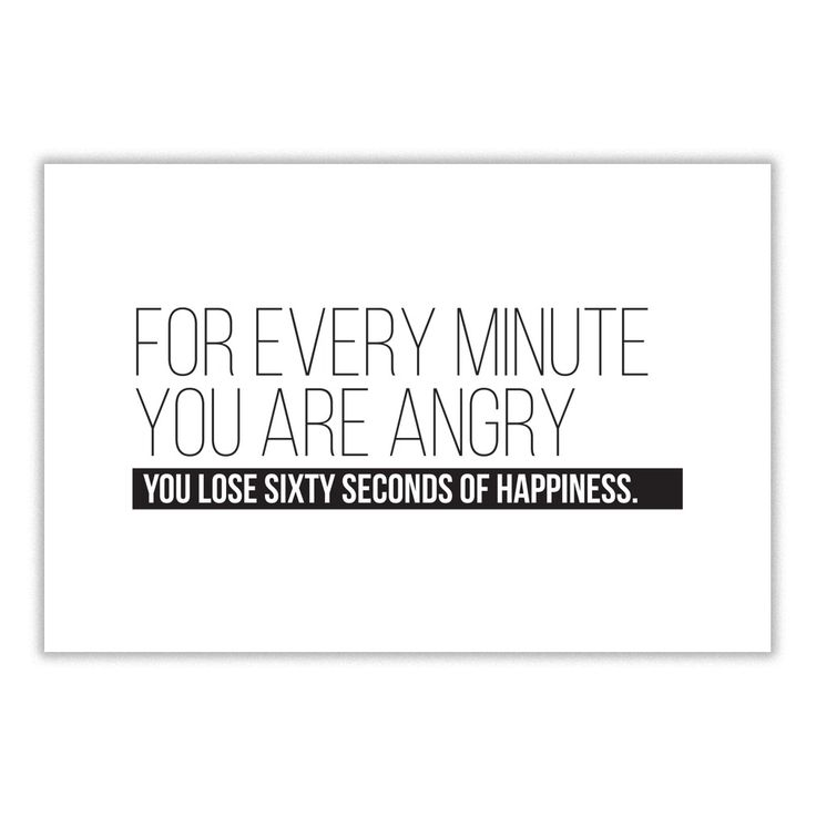 For Every Minute You Are Angry, You Lose Sixty Seconds of Happiness - https://www.sunfrog.com/118296106-537739884.html?68704