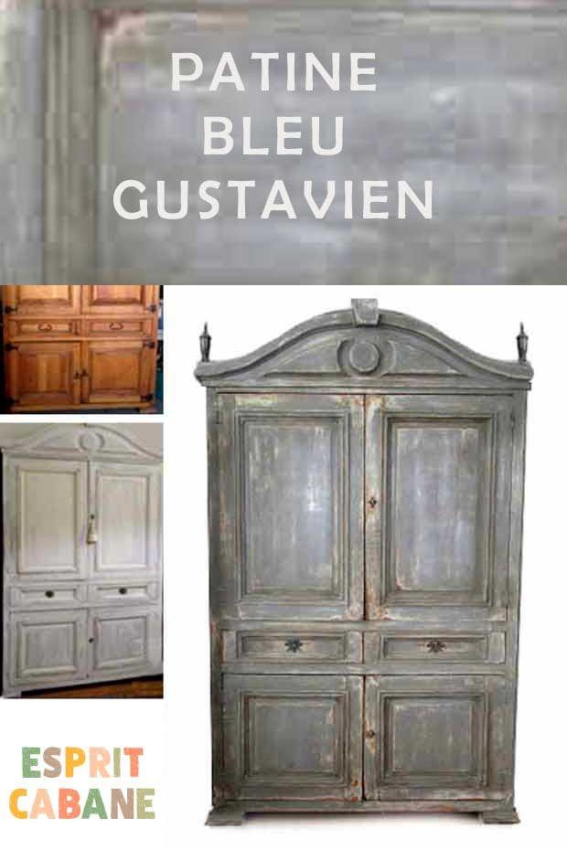 Inspirations Le Style Gustavien Esprit Cabane Peinture Faite Maison Mobilier De Salon Cabane