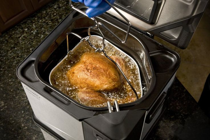 If You're Not DeepFrying Your Turkey, You Are Doing It