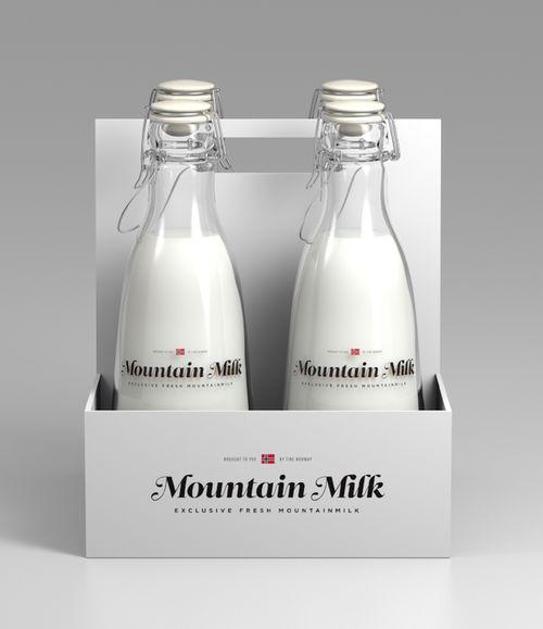 visualgraphic:  Mountain Milk