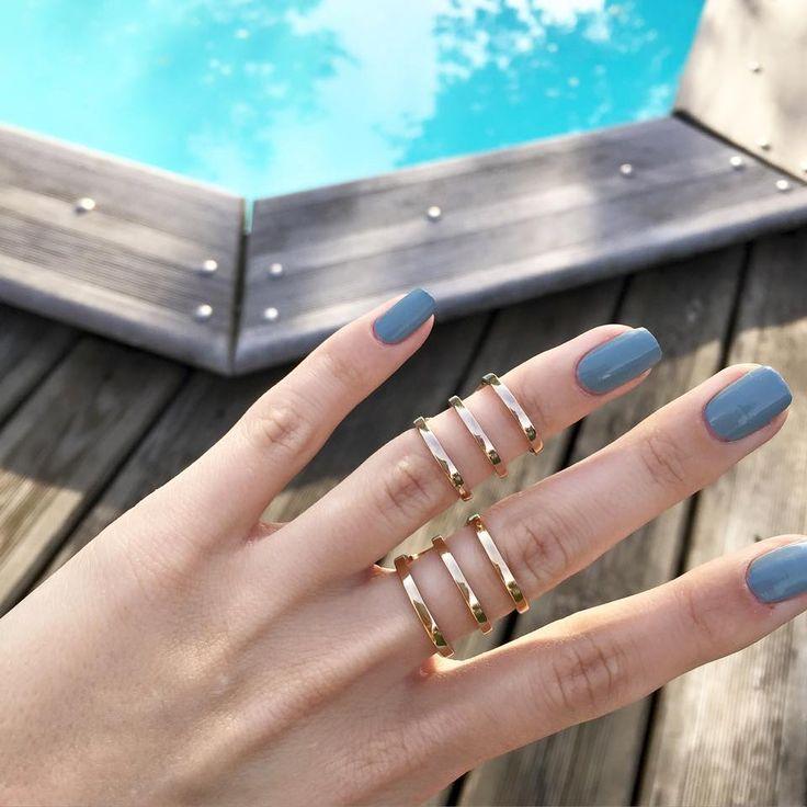 Bagues à retrouver sur www.joliedemoiselle.fr #bague #ring #or #gold #joliedemoiselle #bijoux #jewels