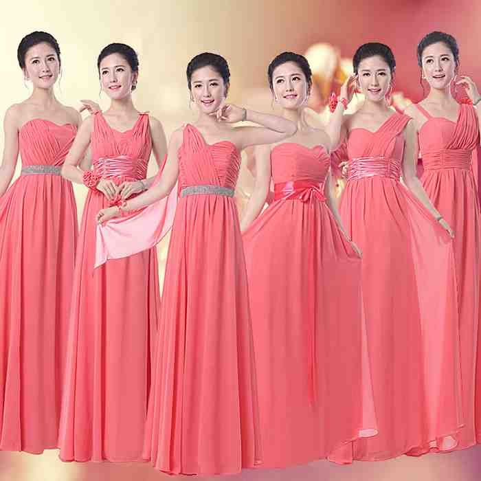 34 best coral bridesmaid dresses images on Pinterest | Coral ...