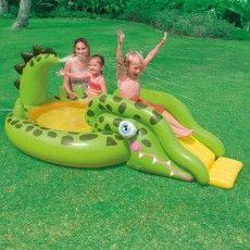 Superb Intex Gator Play Center Baby Pool bei intex poolstore de g nstig online kaufen Wassertiefe cm Fassungsverm gen Liter