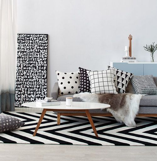 Scandi style. Image by Denise Braki for Temple & Webster Article : Déco scandinave, nordic... On ne s'en lasse pas !
