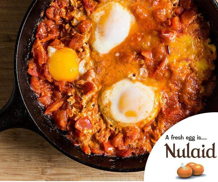 The Tomato-y, Yogurt-y Shakshuka is simple and quick enough but so much healthier than pancakes! This would be a quick meal anytime of the day. For the full recipe, click here: http://ablog.link/4it. Source: Food52. #Nulaid