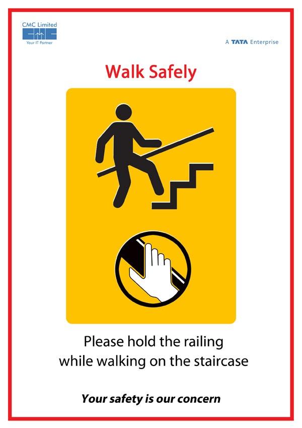 Poster - Walk Safely