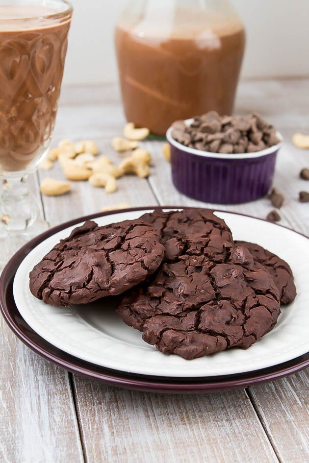 Double Dark Chocolate Cookies - The Healthy Version Recipes ...