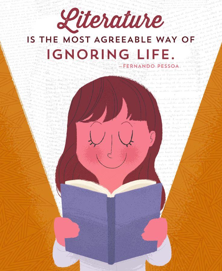 Quote of the Day: Fernando Pessoa on Loving Literature