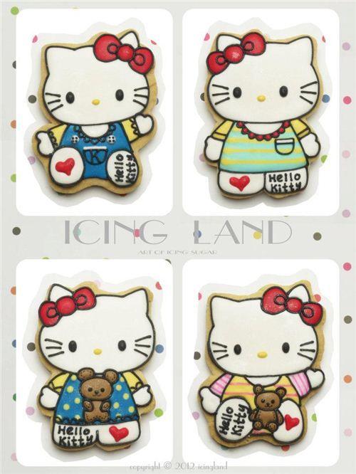 Incredible Hello Kitty Cookies #kitty