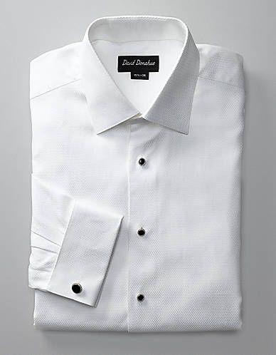 Dobby Neat Tuxedo Shirt