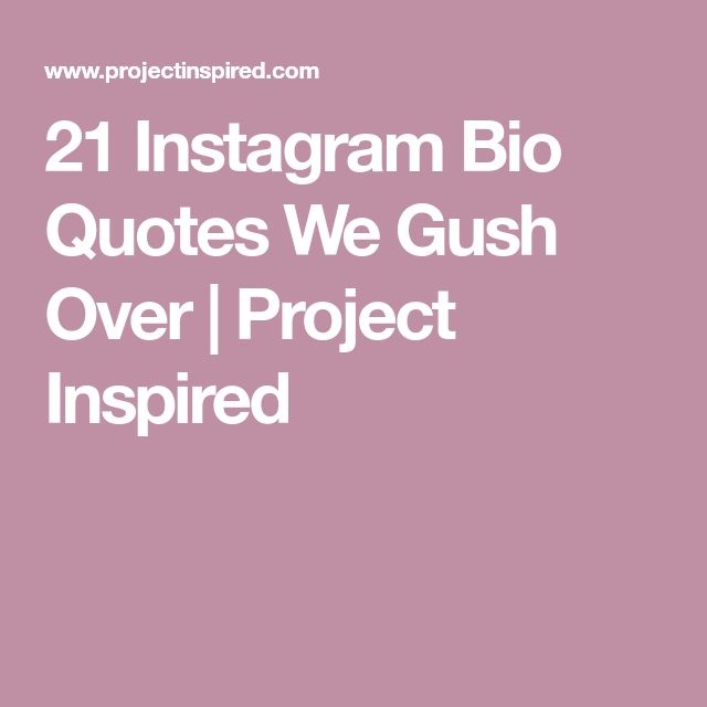 Best 25+ Instagram Bio Ideas On Pinterest