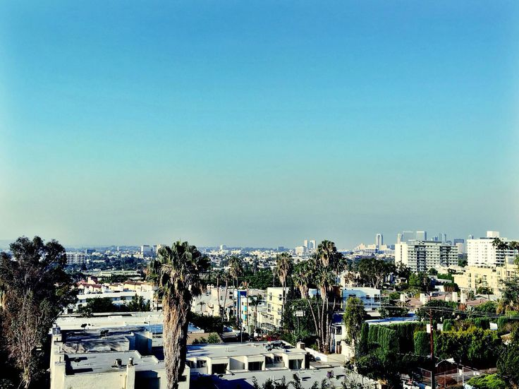 Views from our hotel #weho #hollywood #losangeles #view
