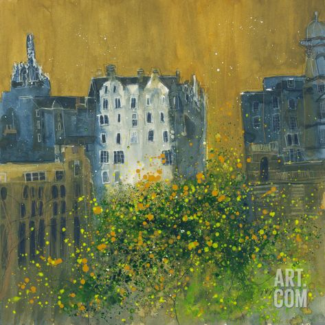 Tenements, Edinburgh Giclee Print by Susan Brown at Art.co.uk