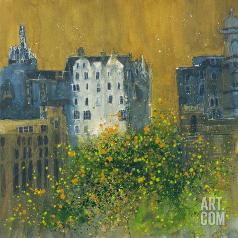 Tenements, Edinburgh Giclee Print by Susan Brown at Art.co.uk