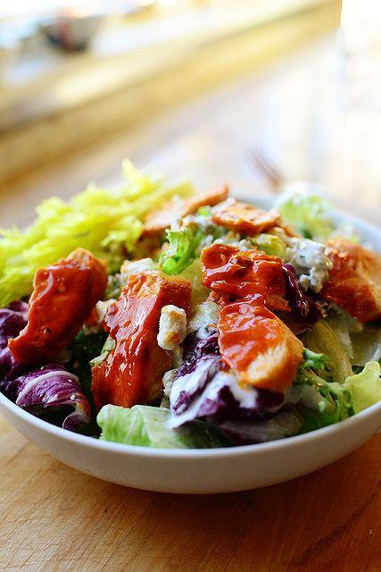 Buffalo chicken, Buffalo and Buffalo chicken salads on Pinterest