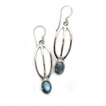 Labradorite Earrings 2 - Earrings - Silver Jewellery - Jewellery