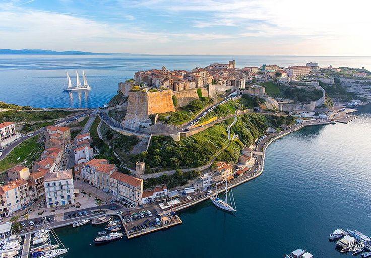 Bonifacio Sud Corse Unique Credit Photos Desjo Edition