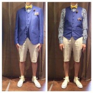 新郎衣装,ショートパンツスタイル #新郎衣装