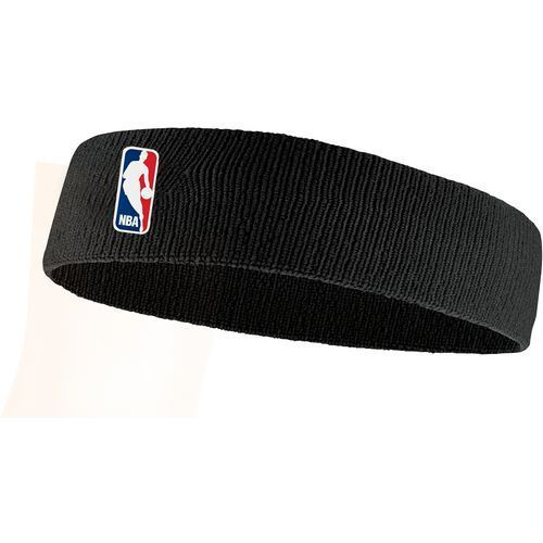 Nike Men's NBA Basketball Headband Black - Basketball Accessories at Academy Sports