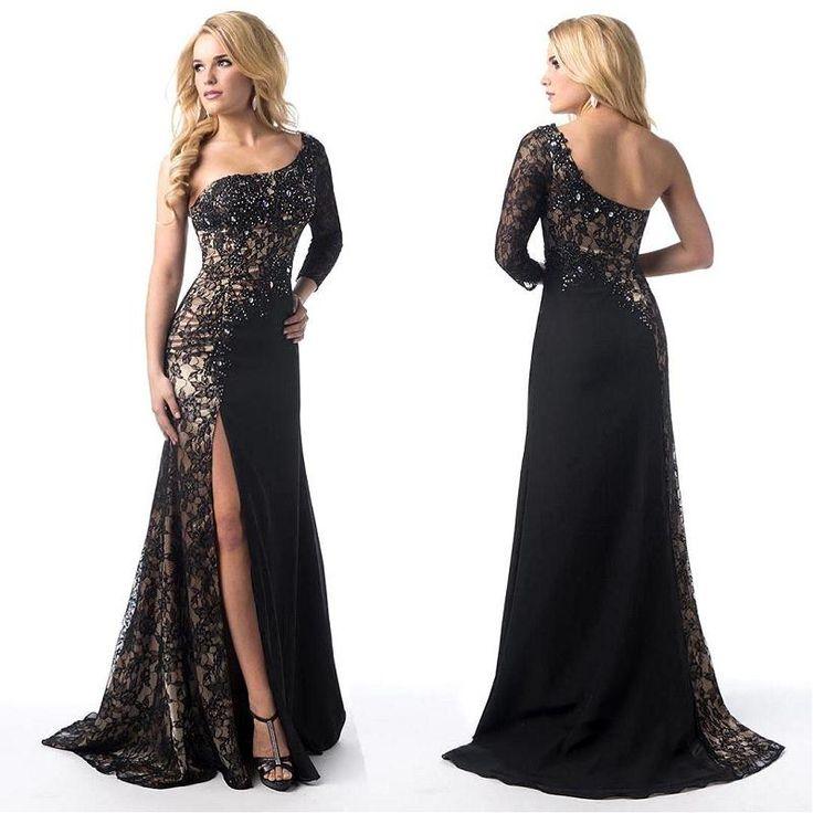 Black evening dresses online india