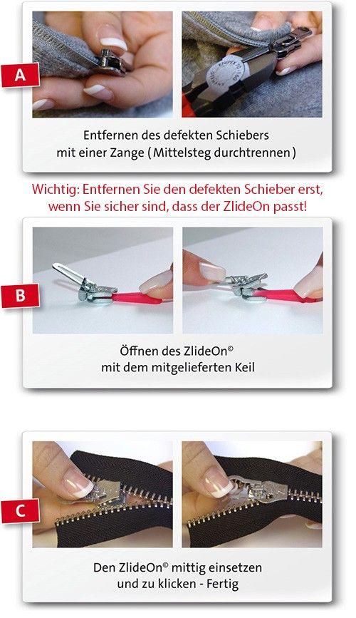 ZlideOn Deutschland - Reißverschluss reparieren - ZlideOn