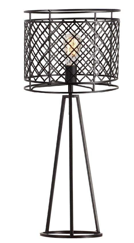 Bleeker Iron Mesh Table Lamp