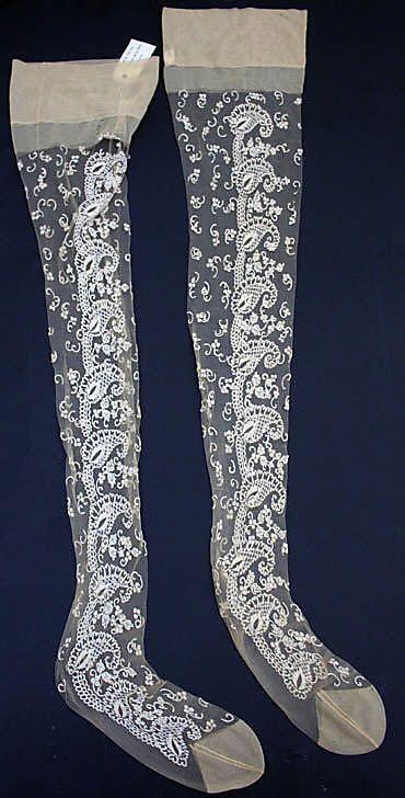 Stockings, Valentino (Italian, born 1932): early 1960's, Italian, synthetic.