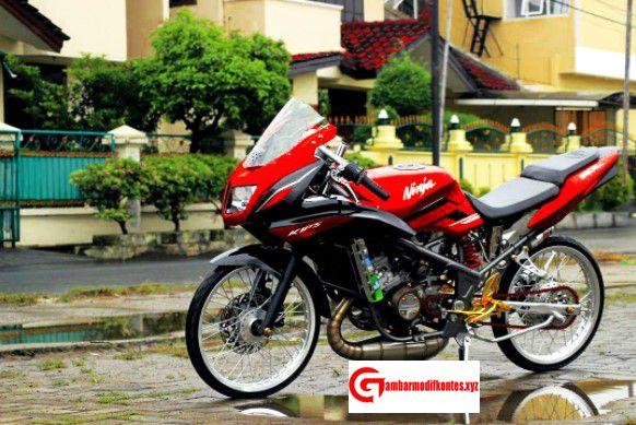 Gambar Motor Drag Ninja R Harian Racing Look Drag Bike Terbaru Motor Sport 2 Tak 150cc Lnsiran Negeri Samurai Jepang Ini Mampu M Motor Kawasaki Ninja Samurai