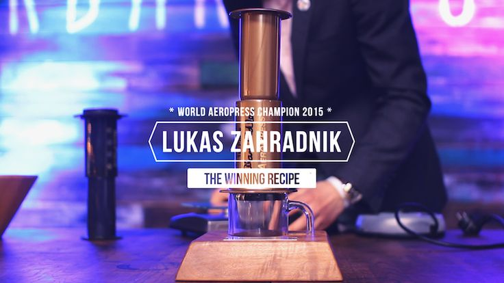Lukas Zahradnik is 2015 World Aeropress Champion. He brought his successful recipe back home during the Coffeefest Slovakia where we asked him to brew his winning Aeropress method in front ...