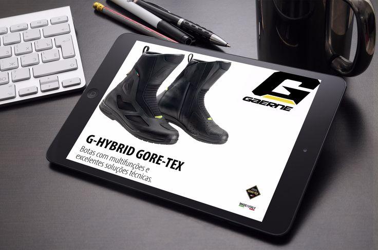 GAERNE | G-HYBRID GORE-TEX || Já chegaram ao mercado português as novas Botas…