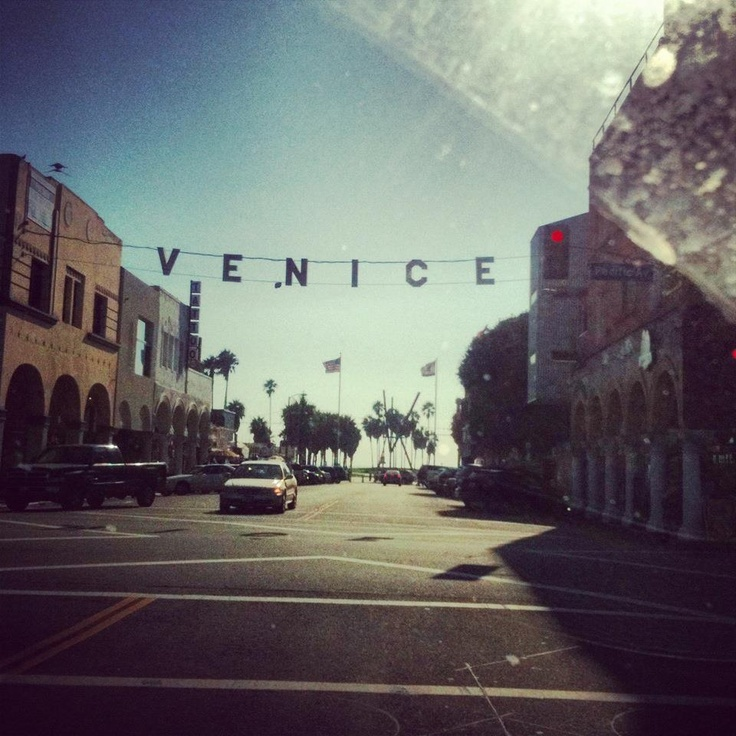 taken and 'instagrammed' at venice beach, ca