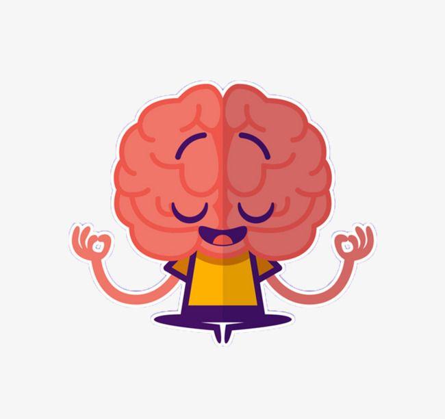 Thinking Brain Brain Art Brain Png Clip Art