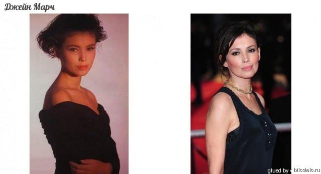 Джейн Марч (род.20 марта 1973, Лондон,  Великобритания) — британская  киноактриса. Наиболее известна ролями в  фильмах «Любовник» и «Цвет ночи» (в  последнем её партнёром был Брюс Уиллис).  Фильмы известны яркими эротическими  сценами.