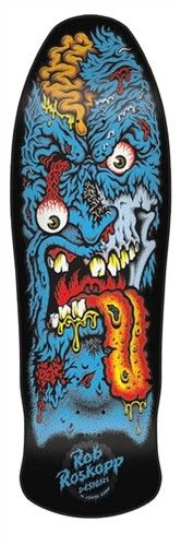 Old School Santa Cruz Skateboards Roskopp Face 2 Phillips Black Skateboard Deck | eBay