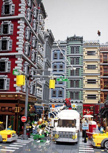 Spidey - City 1 | Jme Wheeler | Flickr
