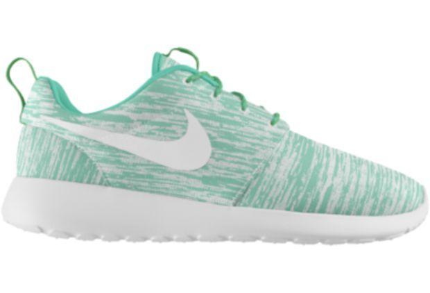 Nike Roshe Run iD Custom Women's Shoes - Blue