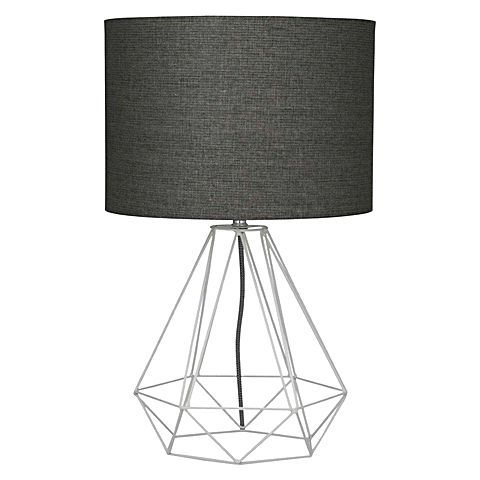 Punctuate your décor with geometry captured in the smart style-lines of the Empire Table Lamp from Amalfi.