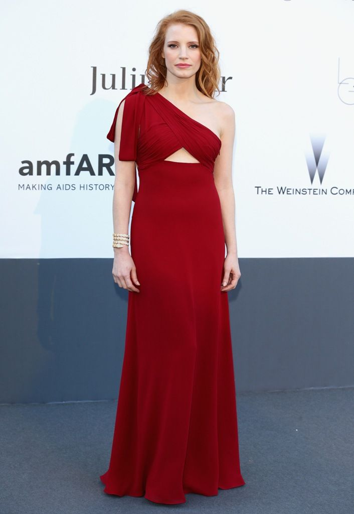 Cannes 23 mai 2013 - Jessica Chastain at the 20th Annual Cinema Against AIDS, Ca