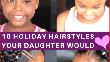 10 Cute & Trendy Back to School Natural Hairstyles for Black Girls