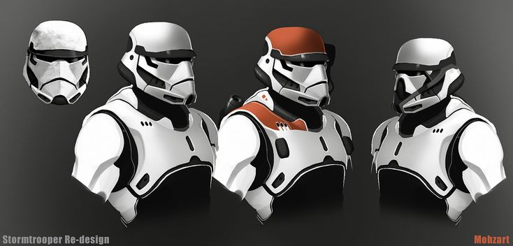 Storm Trooper redesign by mohzart.deviantart.com on @DeviantArt